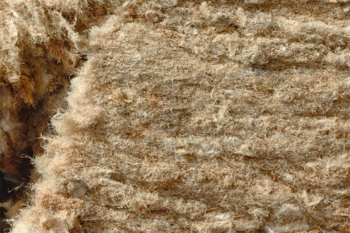 FRT fibers made of kraft containing paper macro shot